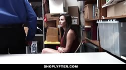 Shoplyfter - Teen Recorded Fucking Officer