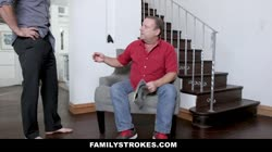 FamilyStrokes - Slutty Sis Athena Rayne Fucks Her Stepbrother
