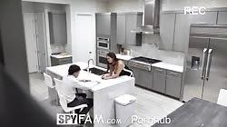 SpyFam Step mom Ava Addams fucks broken hearted step son on valentines day