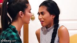 GIRLSWAY Hot Girl Emily Willis Tries Something New With Her Friend