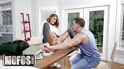 MOFOS - Adriana Chechik squirts all over Tiffany Watson and her bf