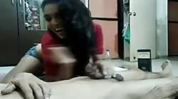 Young and sexy indian babe enjoys with her boyfriend